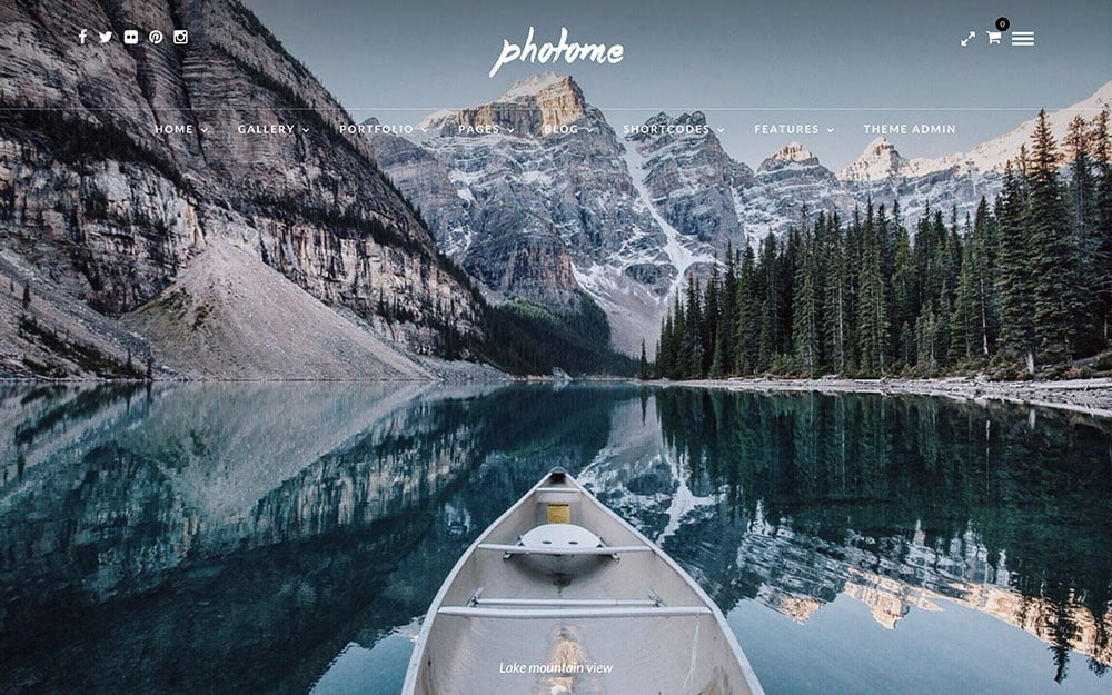 Photo-Me - 36+ Top Quality WordPress Themes For Photography [year]