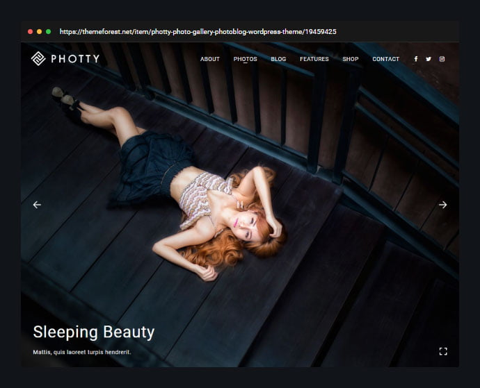 Photography-Photty - 31+ Awesome Wedding Photography Service WordPress Themes [year]
