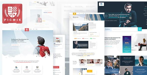 Picwik - 36+ Nice WordPress Themes For Coaching [year]