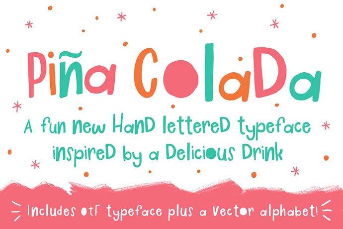 Pina-Colada-Font