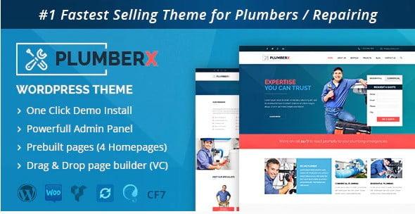 Plumber - 36+ Awesome Plumbers WordPress Themes [year]