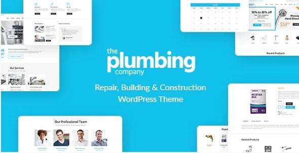 Plumbing - 36+ Awesome Plumbers WordPress Themes [year]