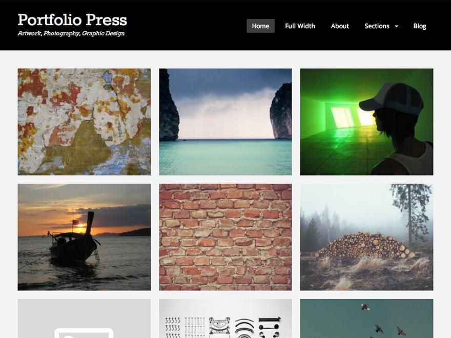 Portfolio-Press-1 - 46+ Nice Free WordPress Portfolio Themes [year]