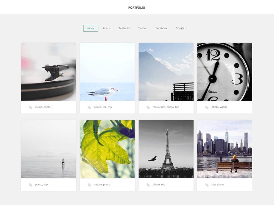 Portfolio - 46+ Nice Free WordPress Portfolio Themes [year]