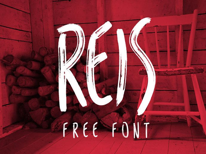 REIS - 51+ Free Fonts For Calligraphy & Hand Lettering [year]