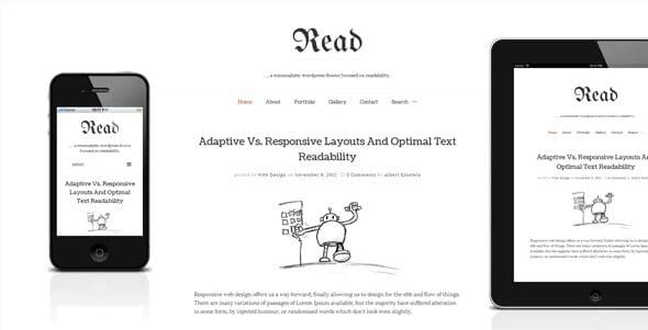 Read - 36+ Awesome Minimalist WordPress Themes [year]