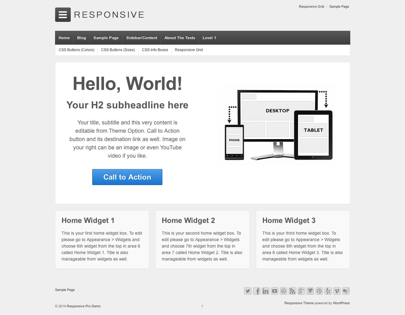 Responsive - 51+ Awesome Free WordPress Themes For Ecommerce [year]