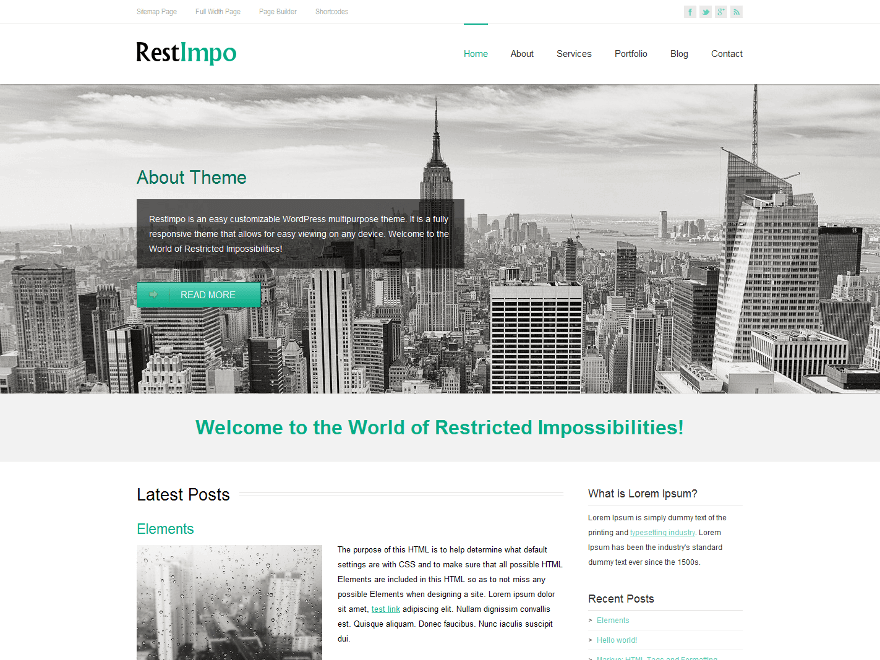 RestImpo - 51+ Awesome Free WordPress Themes For Ecommerce [year]