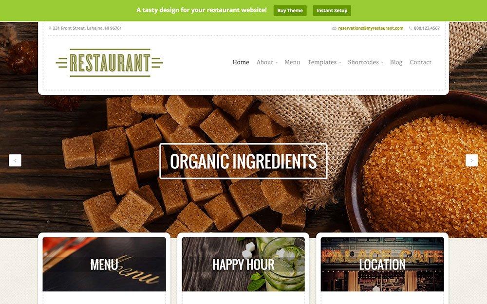 Restaurant - 50+ Nice WordPress Themes For Restaurant [year]