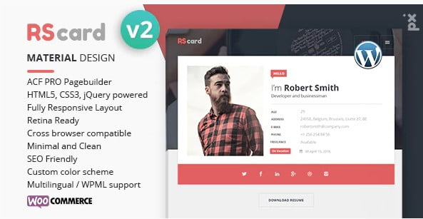 Resume - 36+ Awesome Plumbers WordPress Themes [year]