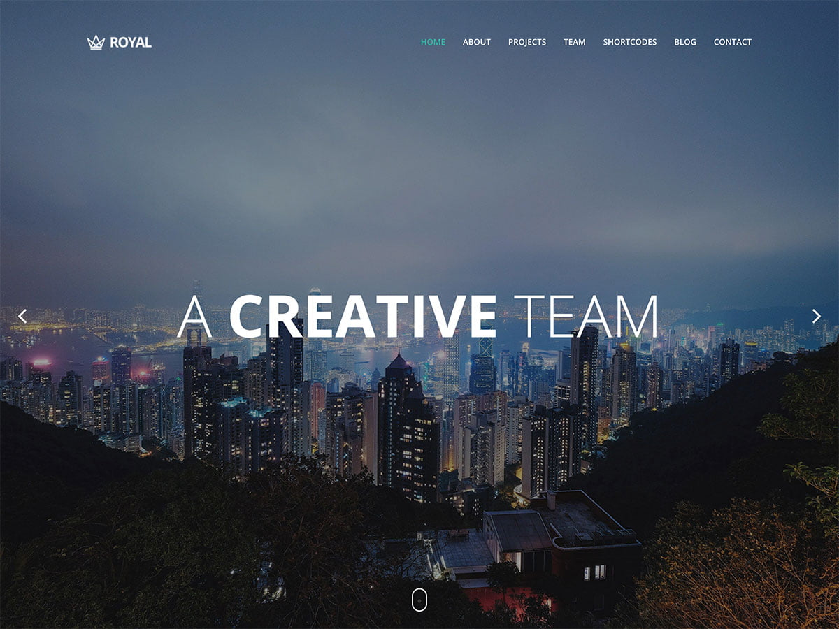 Royal-1 - 41+ Amazing WordPress Parallax Themes For You [year]