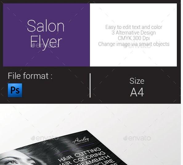 Salon-Flyer