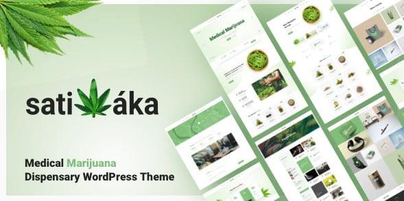 Sativaka - 36+ Top Quality WordPress Themes For Coffee Shop [year]