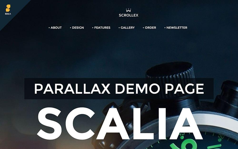 Scalia-4 - 41+ Amazing WordPress Parallax Themes For You [year]