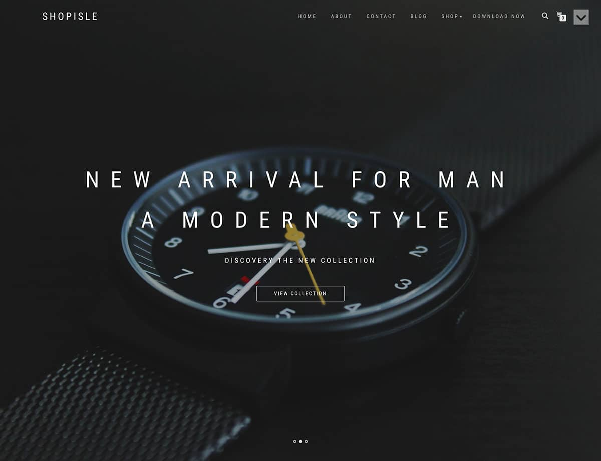 Shop-Isle - 51+ Awesome Free WordPress Themes For Ecommerce [year]