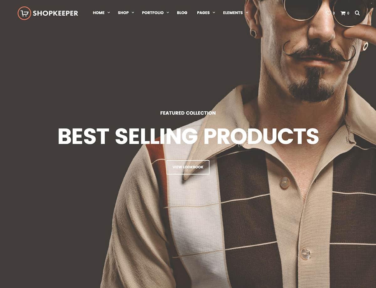 Shopkeeper-1 - 36+ Top WordPress Themes For Ecommerce [year]