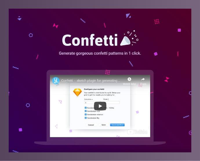 Sketch-Confetti - 61+ Free Useful Sketch Plugins & Add Ons [year]