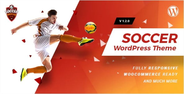 Soccerclub - 36+ Nice WordPress Golf Themes For Golf Clubs Websites [year]