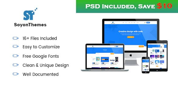 SoyonThemes - 36+ Awesome WordPress Digital Products Selling Themes [year]