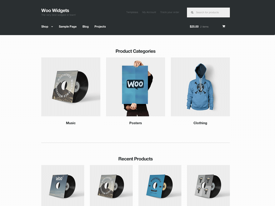 Storefront - 51+ Awesome Free WordPress Themes For Ecommerce [year]