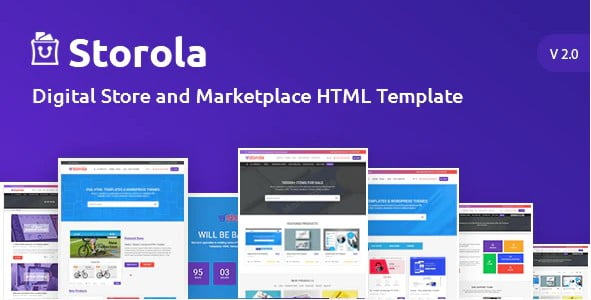 Storola - 36+ Awesome WordPress Digital Products Selling Themes [year]