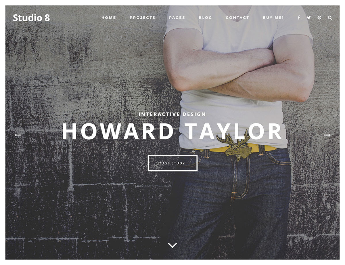 Studio-8 - 40+ Awesome WordPress Themes For Creative Agency [year]