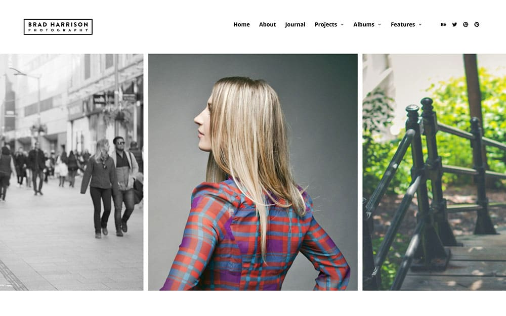 Superba - 36+ Top Quality WordPress Themes For Photography [year]