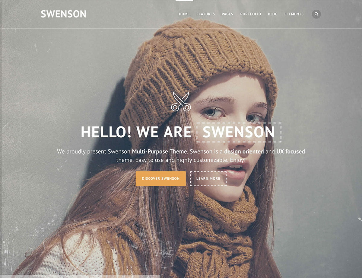 Swenson - 40+ Awesome WordPress Themes For Creative Agency [year]