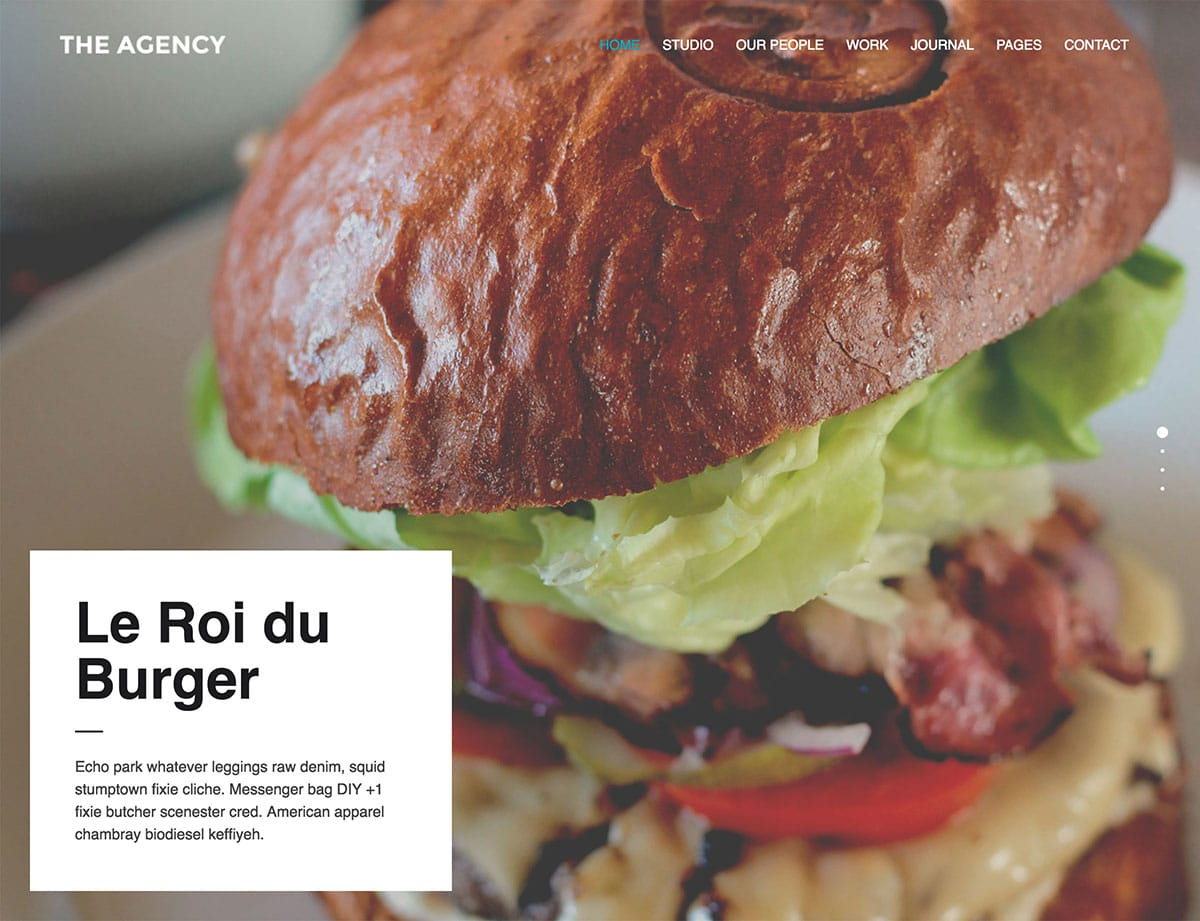 The-Agency - 40+ Awesome WordPress Themes For Creative Agency [year]