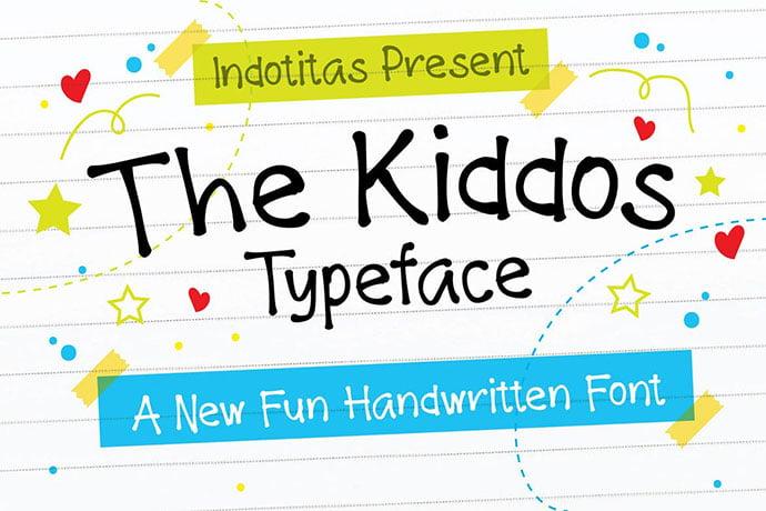The-Kiddos-Typeface