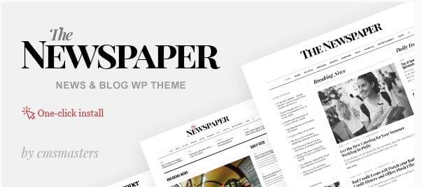 The-Newspaper - 36+ Best Quality Retro WordPress Themes [year]