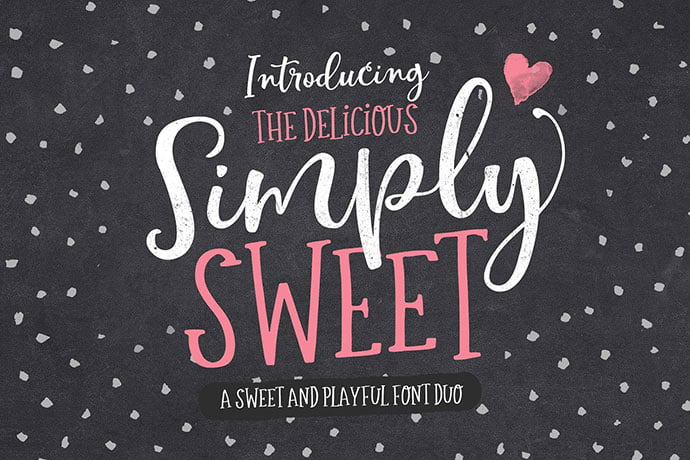 The-Simply-Sweet-Font-Duo