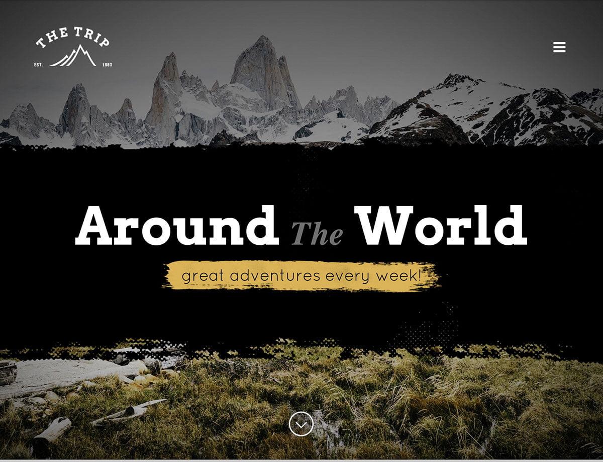 The-Trip-1 - 36+ Amazing Travel, Agencies, Hotels WordPress Themes [year]