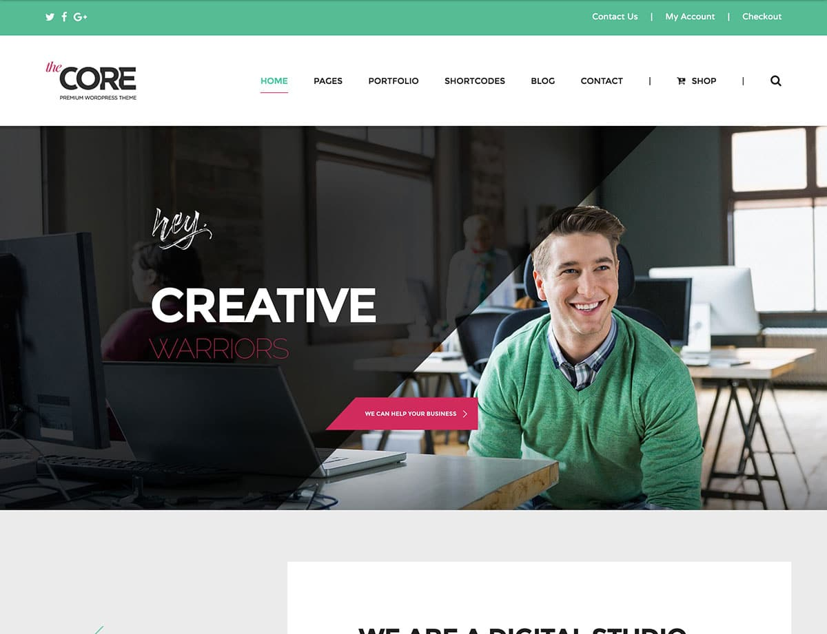 TheCore - 35+ Nice WordPress Themes For Multipurpose [year]