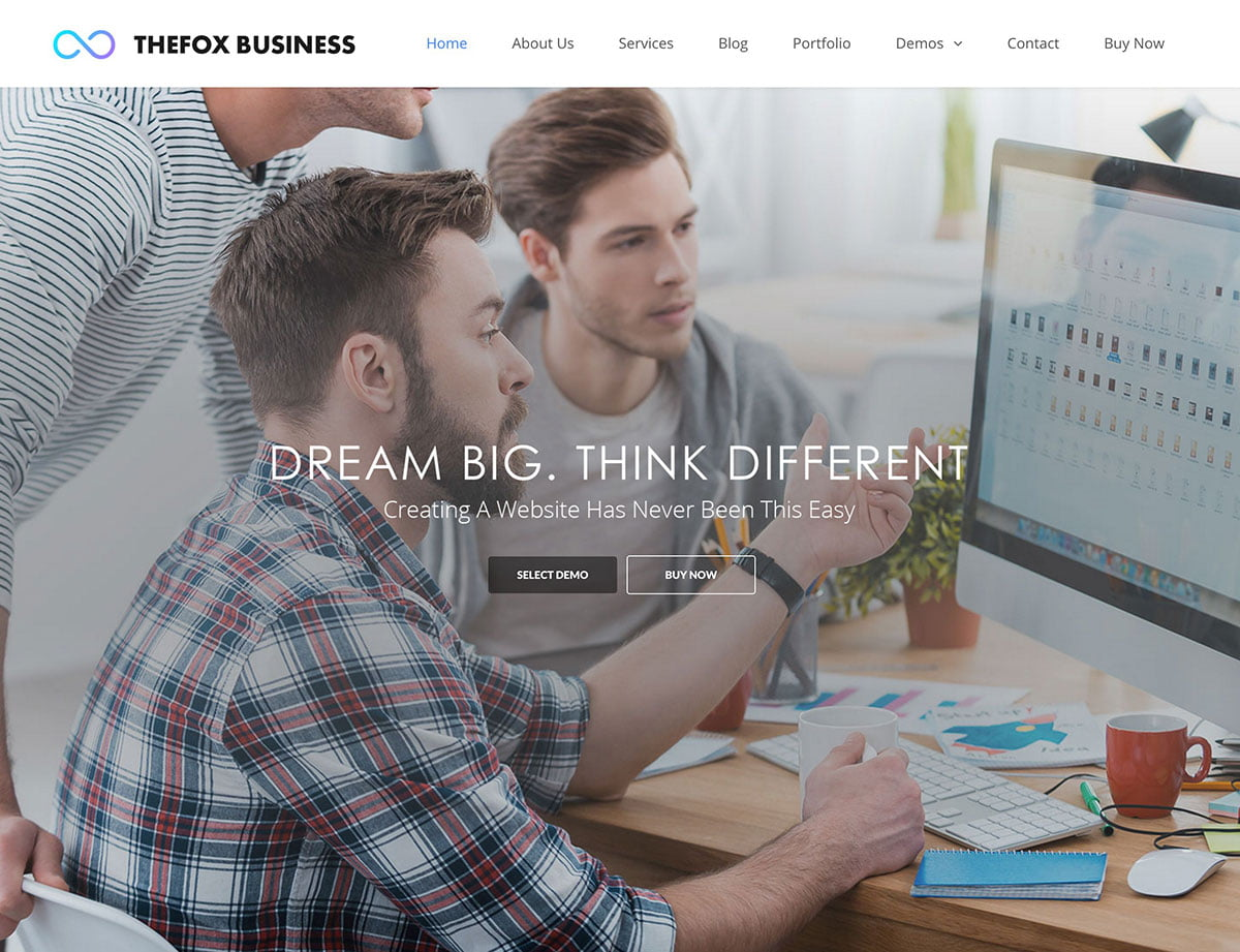TheFox - 60+ Nice WordPress Themes For Business [year]