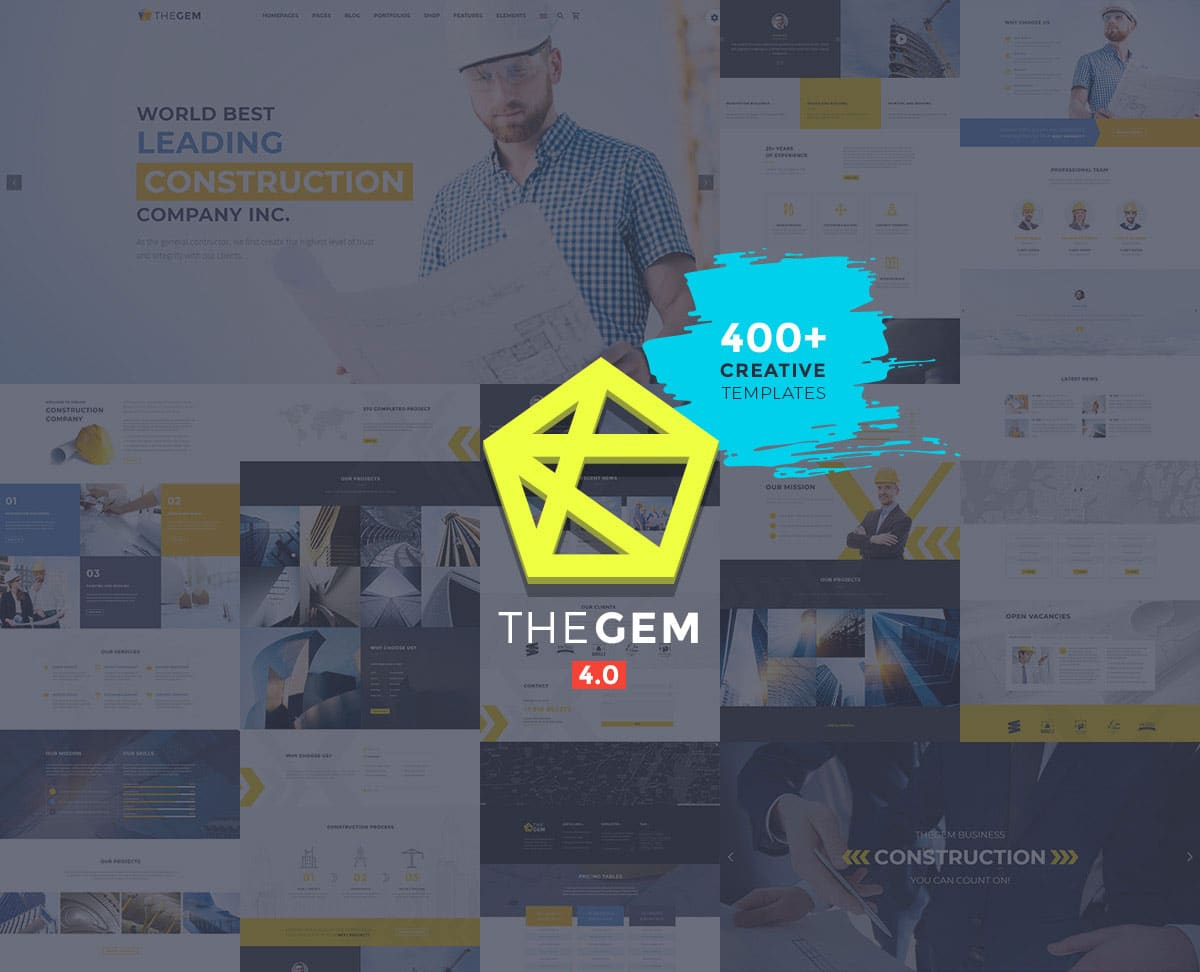 TheGem-12 - 40+ Amazing WordPress Themes For Events [year]