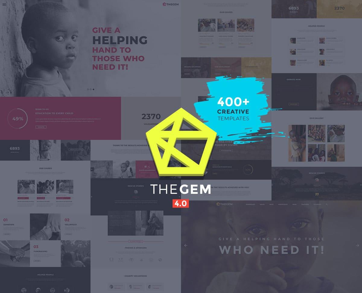 TheGem-13 - 36+ Amazing WordPress Themes For Non-Profit, Charity [year]