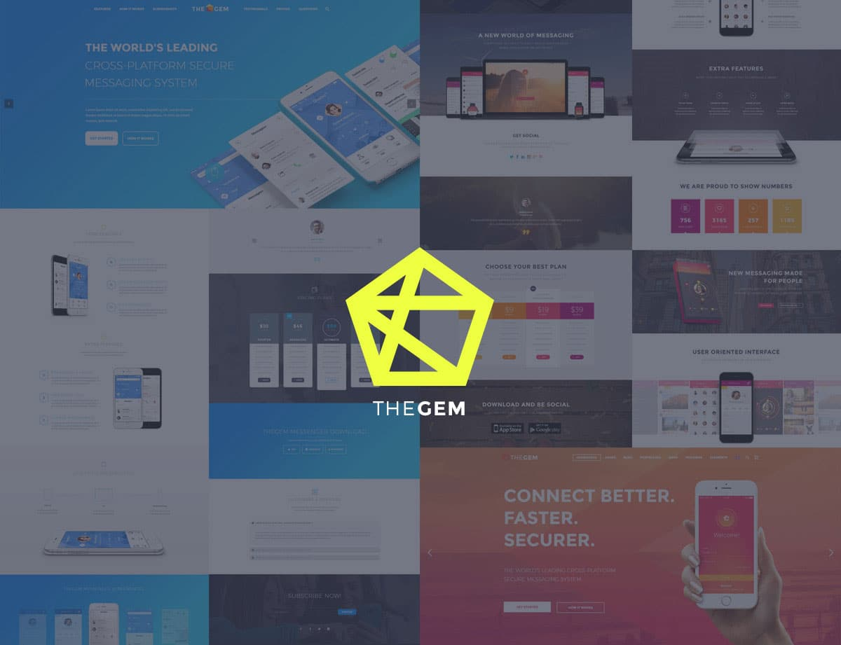 TheGem-18 - 40+ Amazing WordPress App Showcase Themes [year]