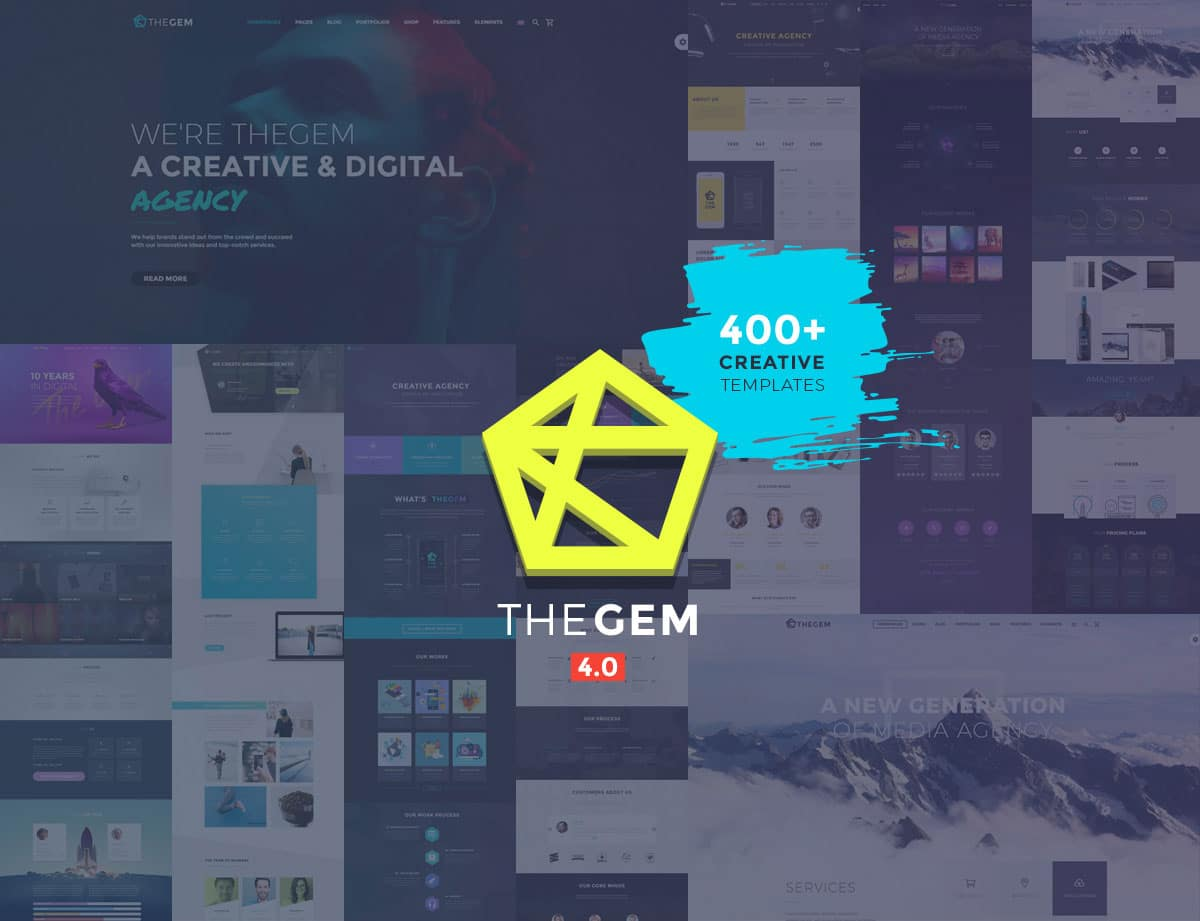 TheGem-4 - 31+ Amazing WordPress Themes For Creative [year]