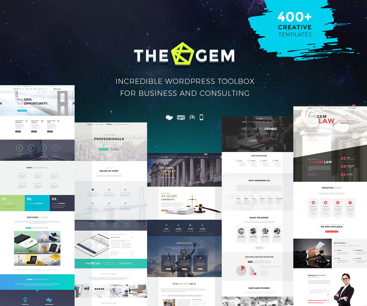 TheGem-5 - 36+ Top Quality WordPress Themes For Business [year]