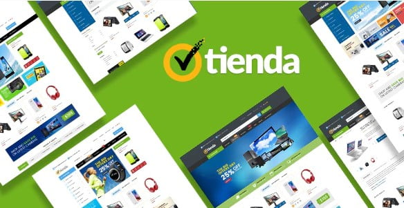 Tienda - 36+ Awesome WordPress Digital Products Selling Themes [year]