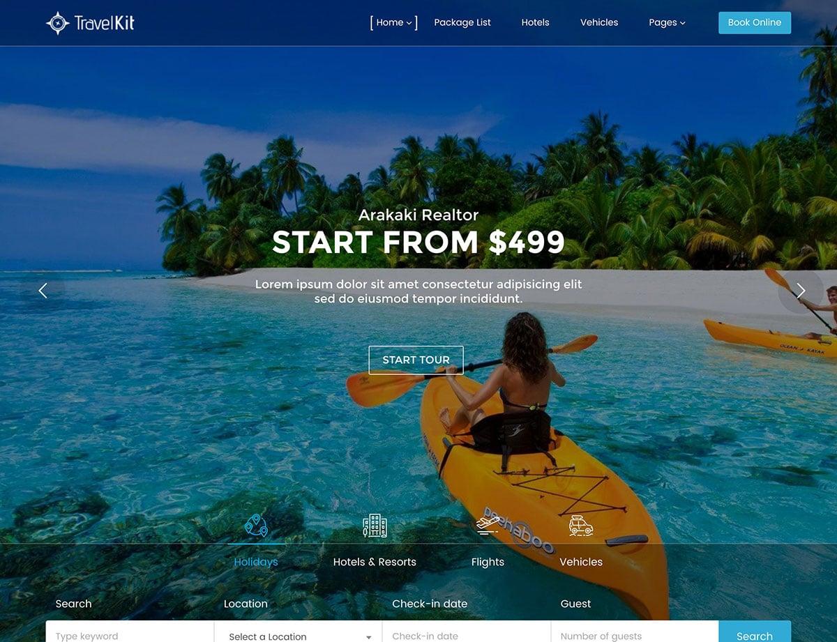 Travel-Agencies-Hotels-WordPress - 36+ Amazing Travel, Agencies, Hotels WordPress Themes [year]