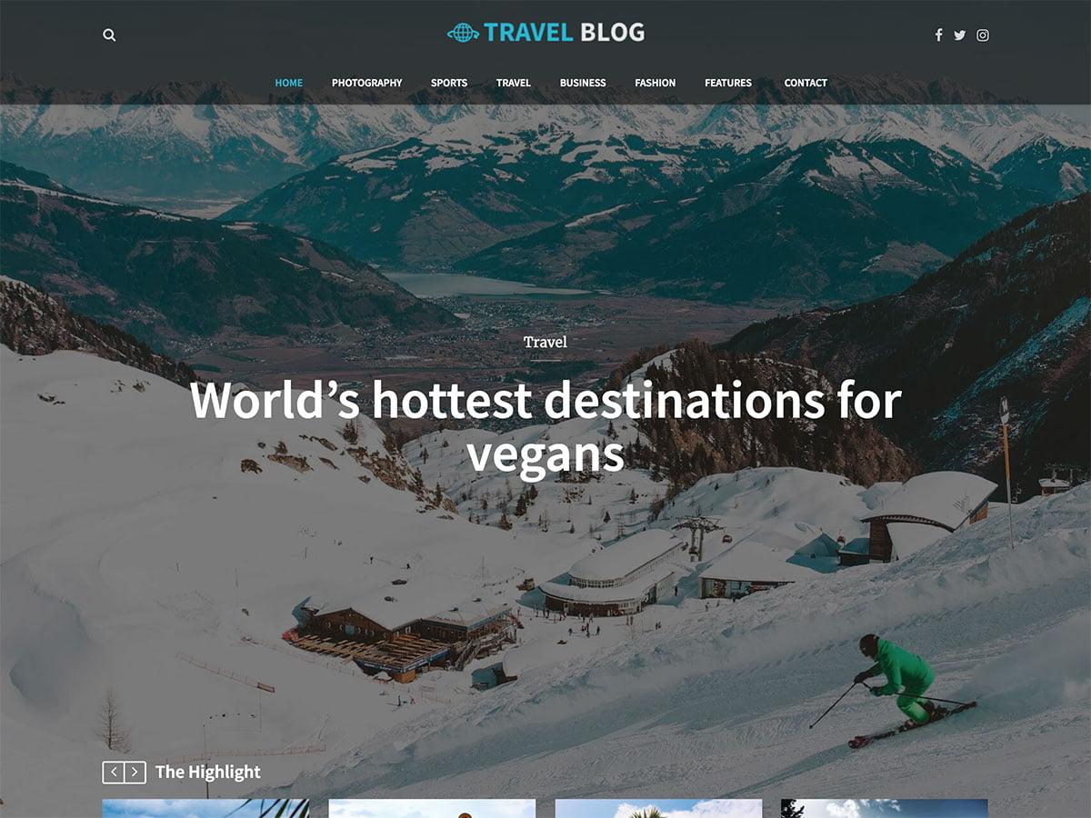 Travel-Blog - 30+ Awesome Travel Blog WordPress Themes [year]