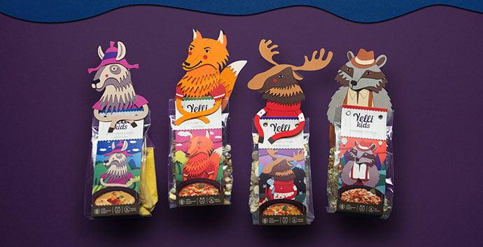 Trident-Gum-Packaging - 35+ Awesome Die Cut Packaging Designs Template [year]