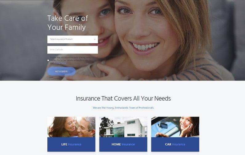 TrustCo - 36+ Amazing WordPress Insurance Themes [year]
