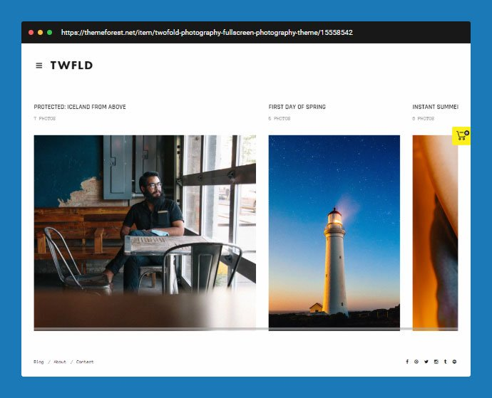 TwoFold-1 - 31+ Awesome Wedding Photography Service WordPress Themes [year]