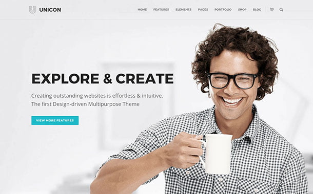 Unicon-1 - 35+ Nice WordPress Themes For Multipurpose [year]