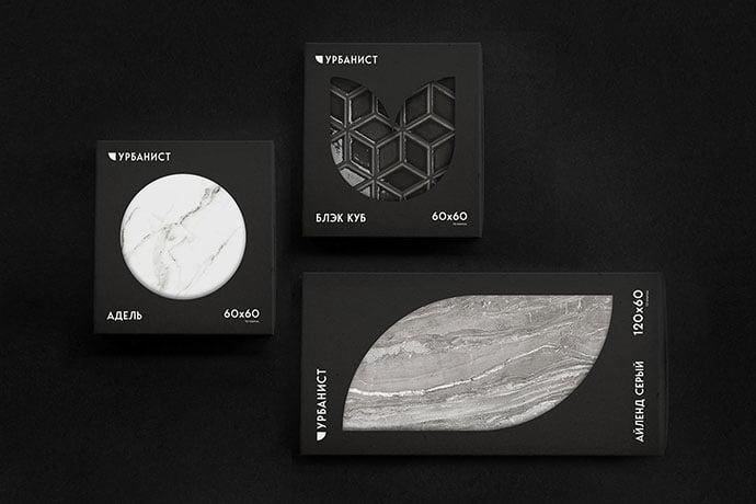 Urbanist - 35+ Awesome Die Cut Packaging Designs Template [year]
