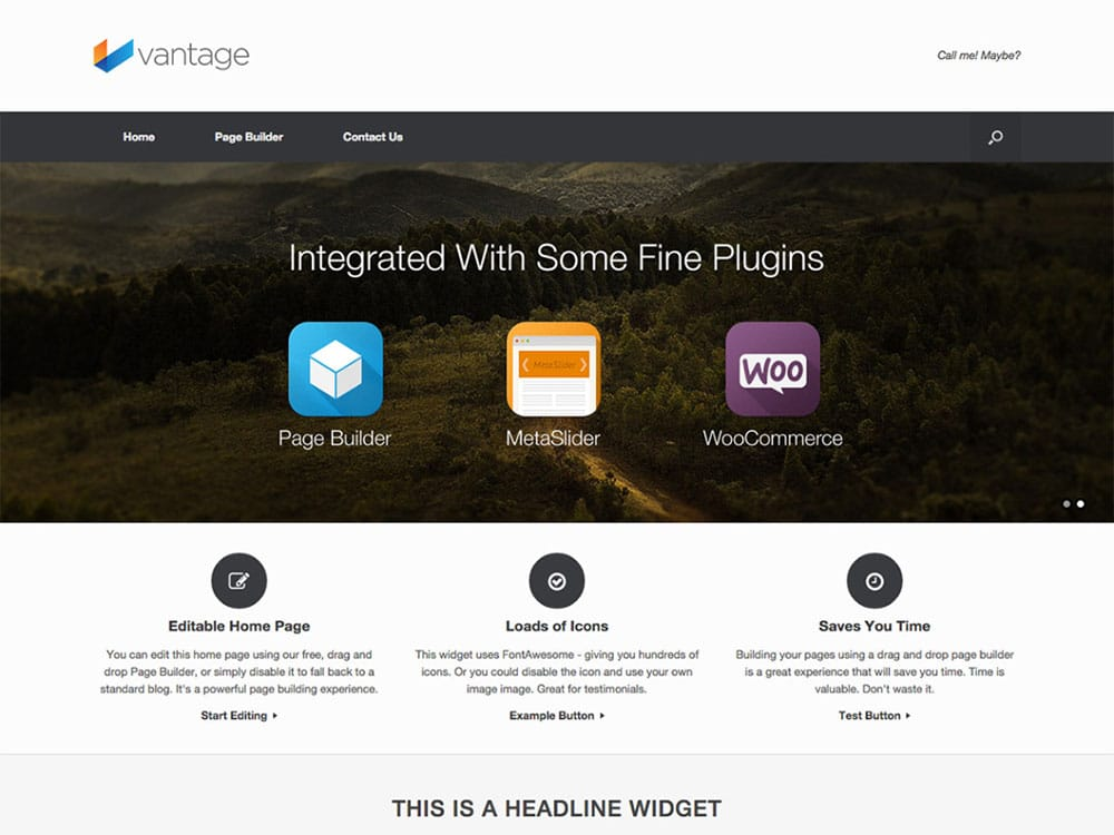 Vantage - 51+ Awesome Free WordPress Themes For Ecommerce [year]