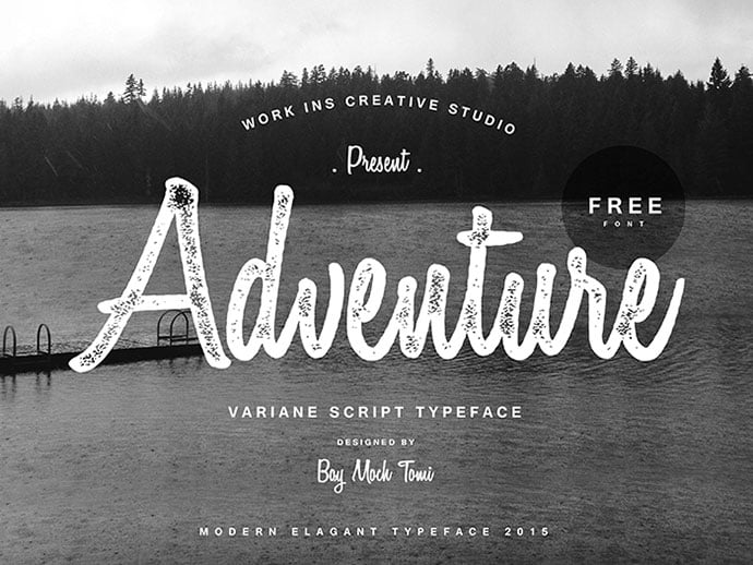 Variane - 51+ Free Fonts For Calligraphy & Hand Lettering [year]